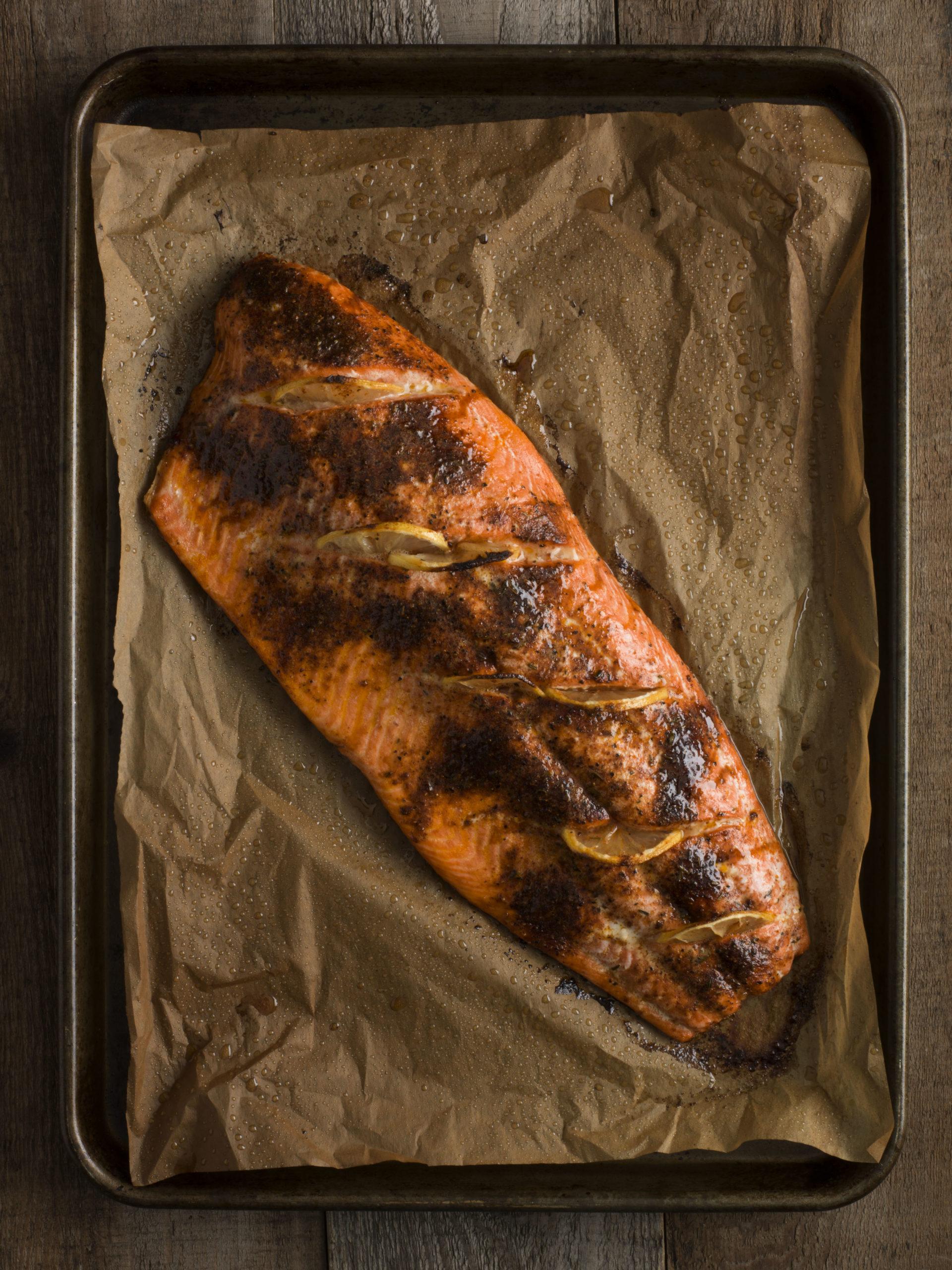 Whole Smoked Sockeye Salmon