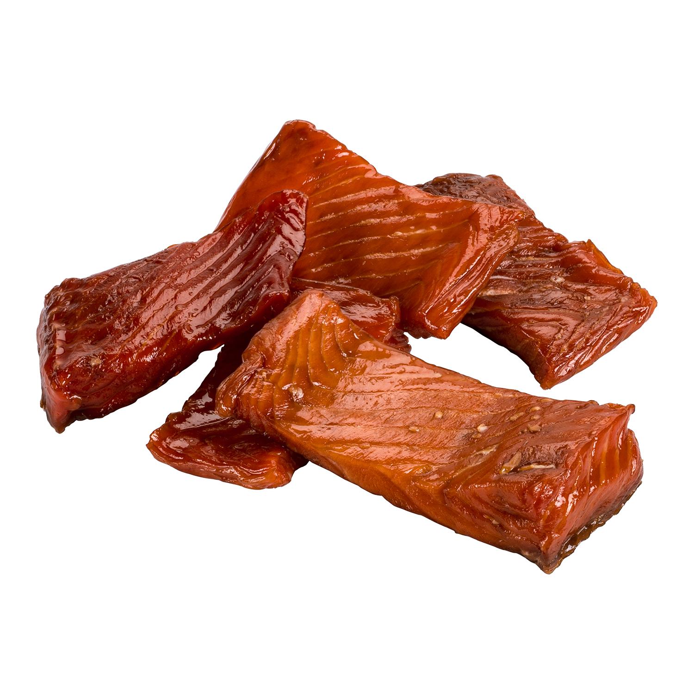 Maple Smoked Sockeye Salmon Nuggets