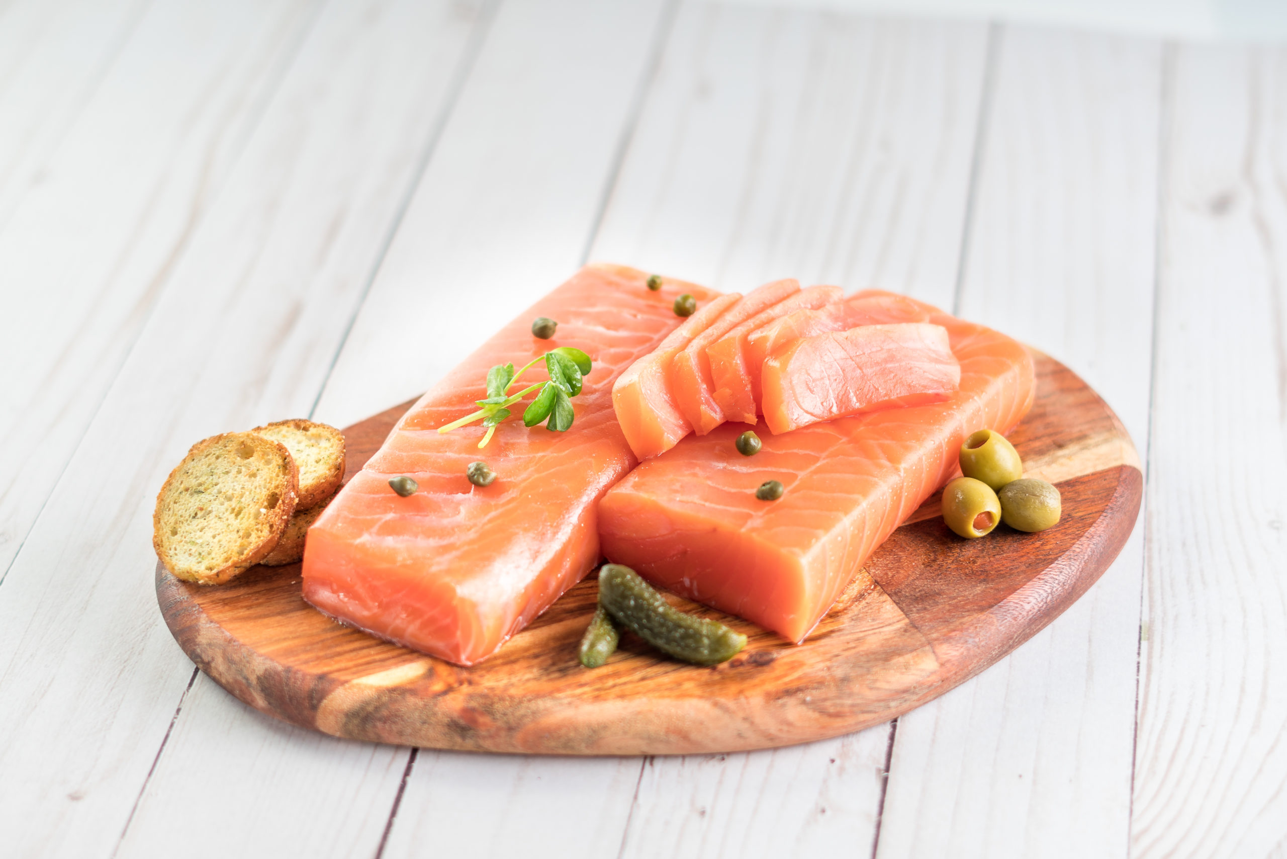 Smoked Atlantic Salmon 'Balik' Style