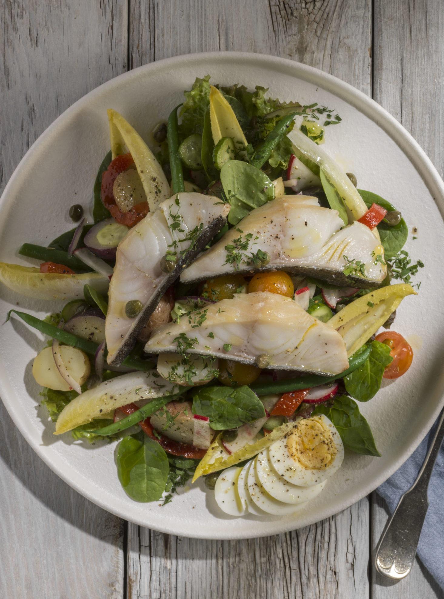Photo of the Sablefish Nicoise Salad meal
