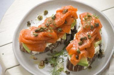 photo of Rustic Avocado Toast with Smoked Salmon Recipe