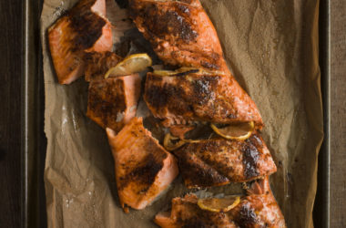 photo of the Whole Roasted Sockeye Salmon Recipe
